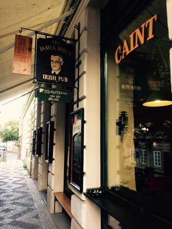 James Joyce The Irish Pub: The James Joyce, Praha