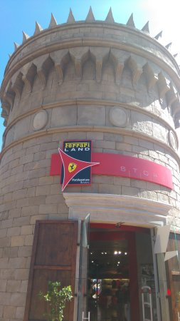 Vila Seca, Espagne : Ferrari Land