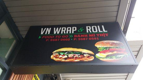 Footscray, Australia: VN Wrap & Roll
