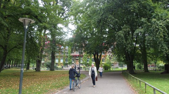 Skulpturparken og Lunds Universitet