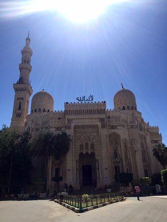 Mosque of Abu al-Abbas al-Mursi: Front view of the mosque