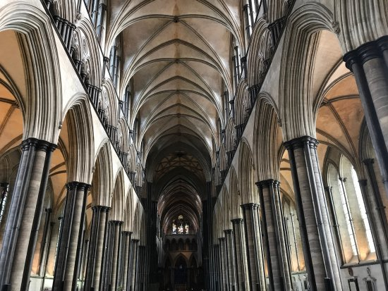 Salisbury Cathedral and Magna Carta: roof