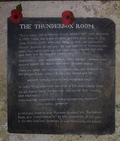 St Austell, UK: In memory