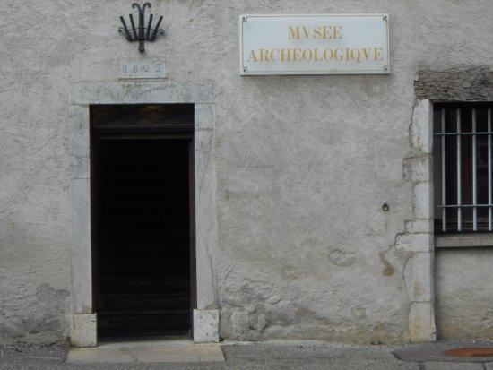 Musée archéologique de Faverges