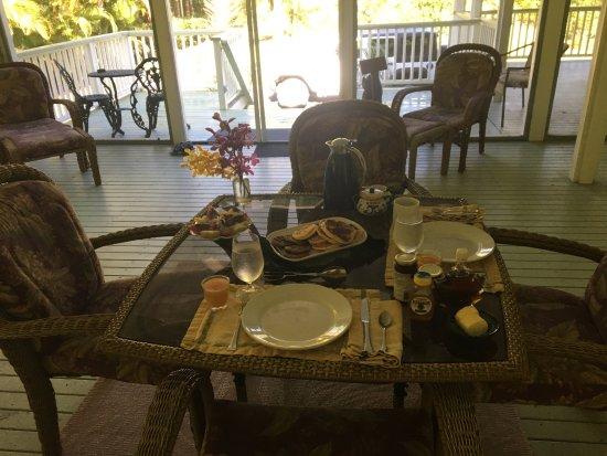 The Ohia House: colazione