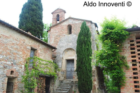 Сан-Джованни-д'Ассо, Италия: Pieve di Santa Maria a Pava 2