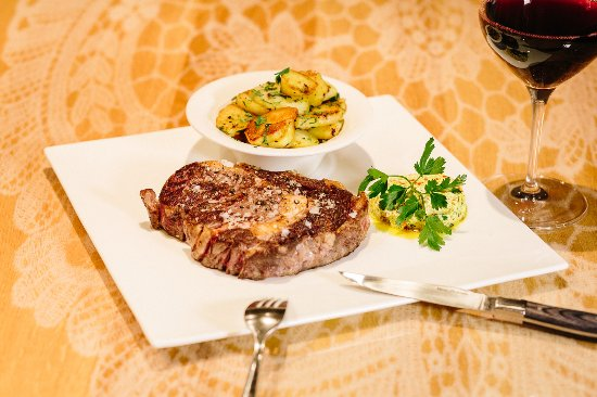 Restaurant Esszimmer Im Rathaus: Rib Eye Steak