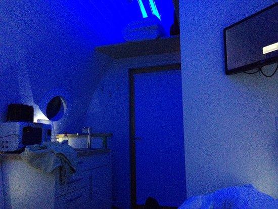 Ardtalnaig Lodge: Mood lighting!
