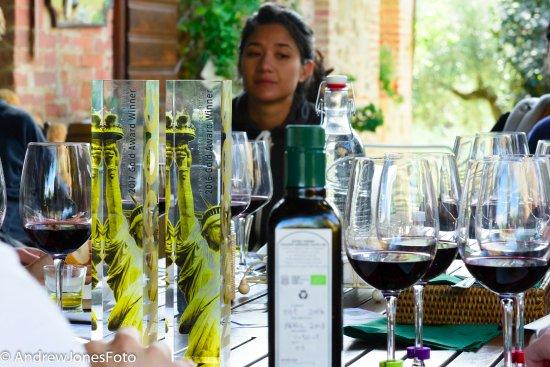 Paciano, Italia: award winning olive oil