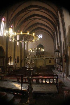 Caunes-Minervois, France: L'église de l'abbaye