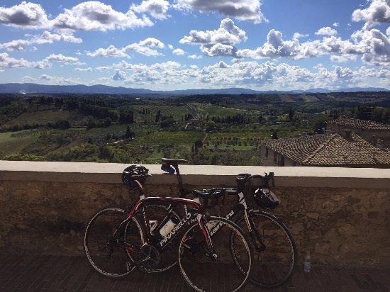 Gaiole in Chianti, Italia: Beautiful Bikes