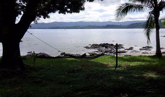 Drake Bay, Costa Rica: Relax total en la playa al lado después de una excursión