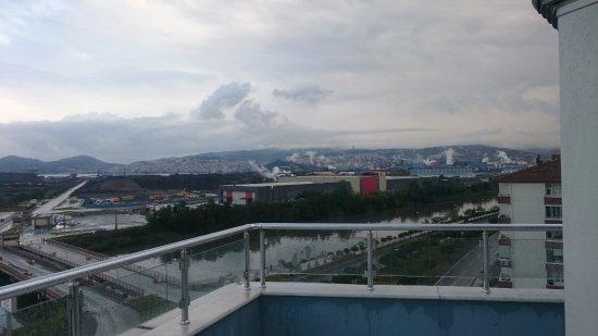 Ereğli, Türkiye: Panorama from restaurant