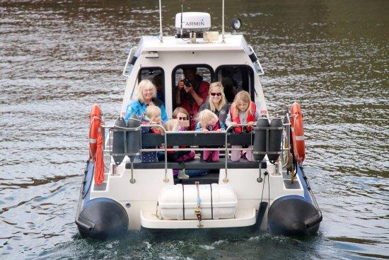 North Berwick, UK: About to set sail