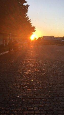 Коломна, Россия: Закат, вид с площади