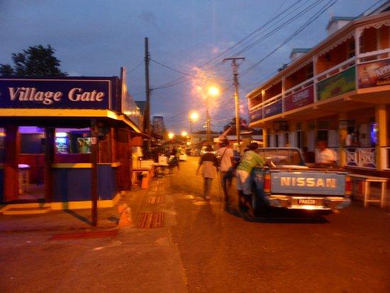 Gros Islet, Sta. Lucía: soirée