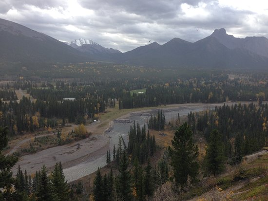 Kananaskis Country, Canada: View from trail
