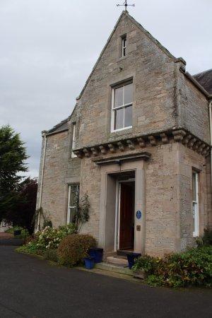 Jedburgh, UK: Allerton House Entrance