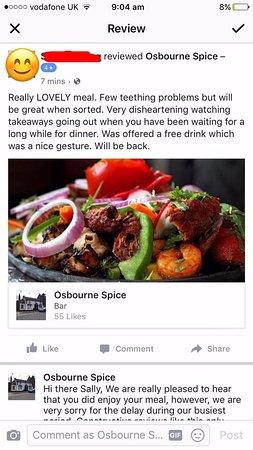 High Wycombe, UK: OSBOURNE SPICE