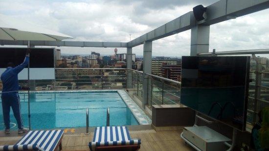 Roof Top Swimming Pool Picture Of Golden Tulip Westlands Nairobi Nairobi Tripadvisor