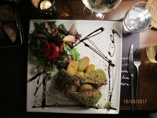 L'Etage: A lamb dish that was just Superb.