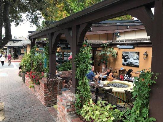 The Village Corner Restaurant Outdoor Patio