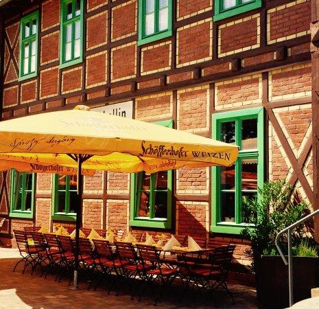 Fehrbellin Wustrau-Altfriesack, Tyskland: Aussenbereich vom Alten Fehrbelliner Bahnhof
