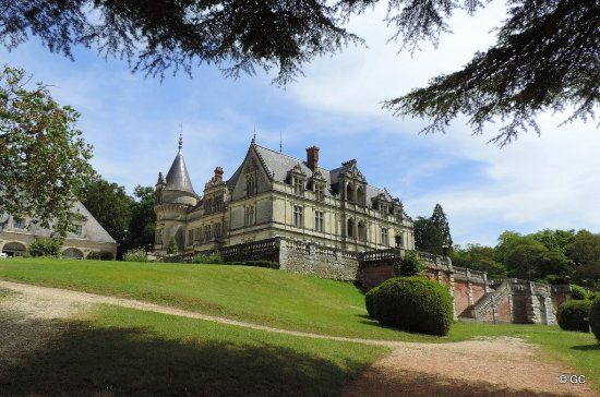 le chateau picture of chateau de la bourdaisiere montlouis sur loire tripadvisor. Black Bedroom Furniture Sets. Home Design Ideas