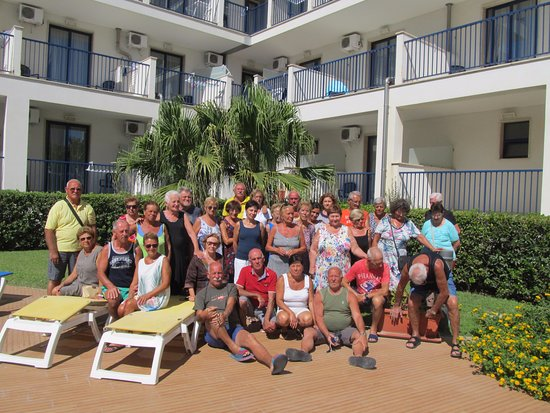 Ticho's  Hotel: Foto del gruppo A:P.V.