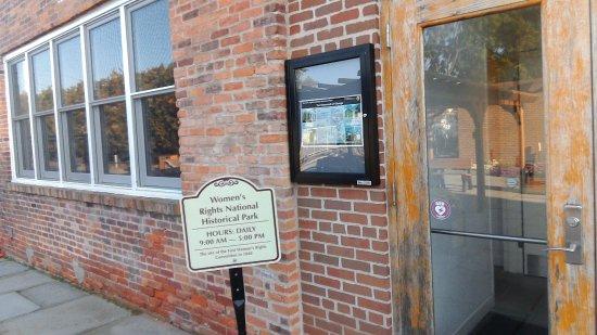 Seneca Falls, NY: back entryway