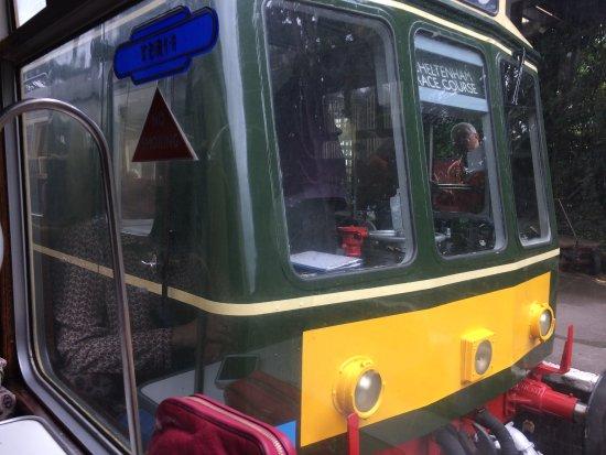 Cheltenham, UK: first carriage