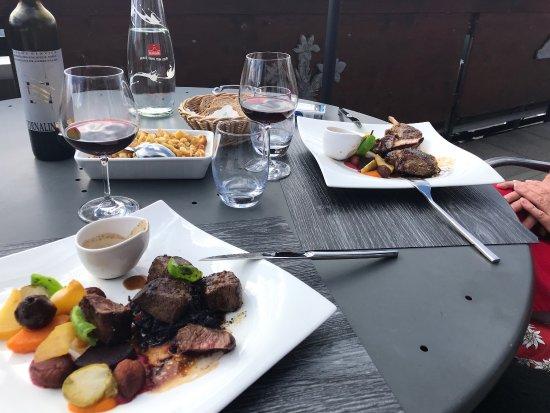 Chez coquoz champ ry restaurant bewertungen for Champery restaurant