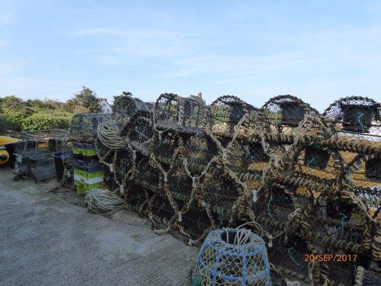 Granville, Francia: casiers à homards