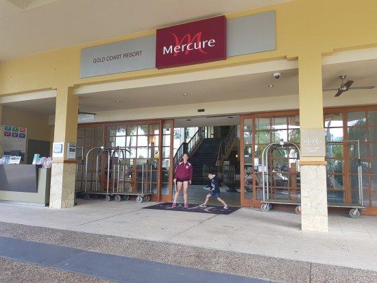 Our getaway at Mecure, Carrara, Qld.
