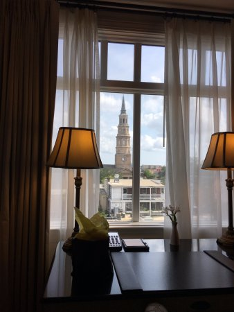 French Quarter Inn: Room with a view.