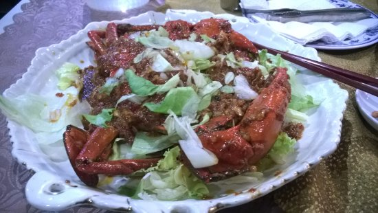 Boat Quay: Crab sea food