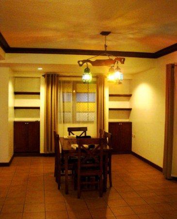 Inside our villa at Club Balai Isabel