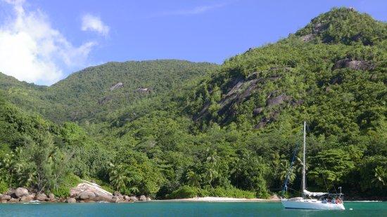 Mahe Island, Seychelles: The beach at Anse Major