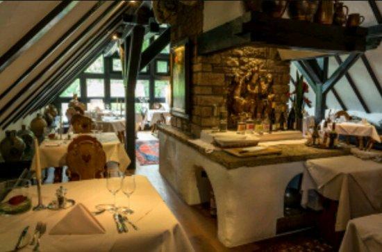 Wartmannsroth, Germany: Restaurant Scheune im Romantik Hotel Neumühle