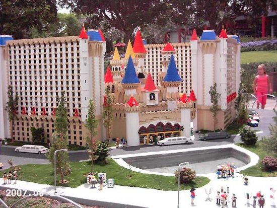 LEGOLAND California: Excalibur in Legoland - Carlsbad, California