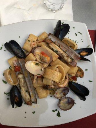 Atrani, Ιταλία: seafood pasta