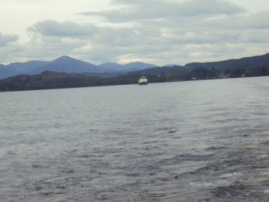 Fort Augustus, UK: Another view from the boat, Cheiftan astern of our boat