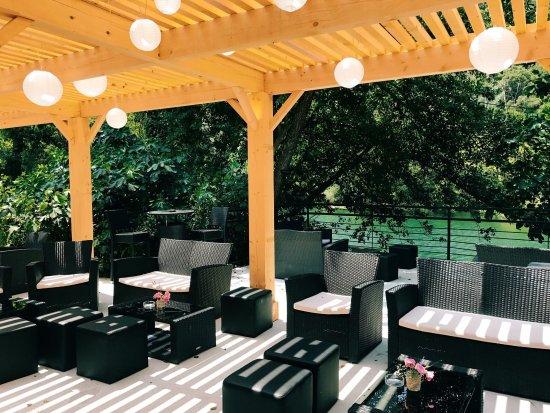 Pegomas, France: Notre lounge extérieur