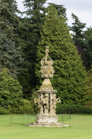 Glamis, UK: The castle grounds