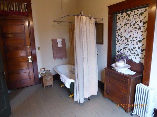Buffalo, WY: Historic bathroom