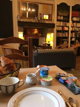 Au Fin Gourmet Hôtel & Terrasse: Frühstück
