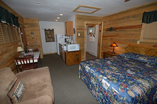 Grand Lake, Kolorado: Western Riviera Small Courtyard Cabin