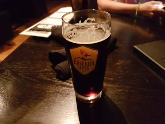 1812 Grillhouse: a great dark beer