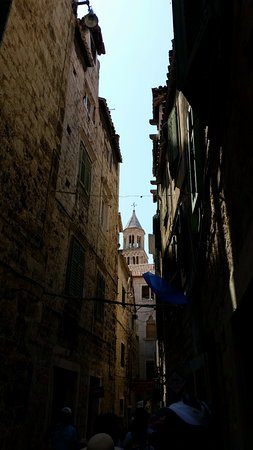 Diokletianpalast: Another back street