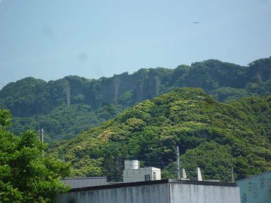 Chiba Prefecture, Japan: 鋸山外観